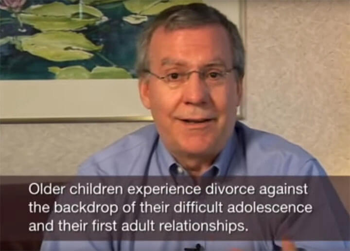 Divorce and Older Children